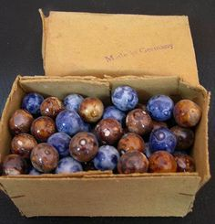Original box of Benningtons