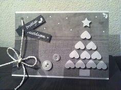 Kerst - boompje kan ook in kleuren van de kralenstaafjes