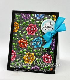 Explore. Dream. Discover.: Rose Garden Background Cling Stamp
