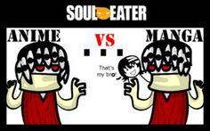 Soul Eater- Anime vs Manga
