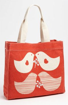 Apple & Bee Organic Cotton Canvas Tote available at Nordstrom. $38.00. Great for teachers presents!