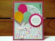 Peanuts and Peppers Papercrafting: Make It Monday - Stampin' Up! Party Pants Birthday Card (New Sale-A-Bration Stamp Set!)