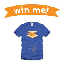 Repin this grilled cheese t-shirt and be entered to win it! Contest details here: http://www.tillamook.com/community/loaflifeblog/april-is-national-grilled-cheese-month/?utm_source=pinterest_medium=social+media_campaign=grilled+cheese+month #GrilledCheese #Win #Contest