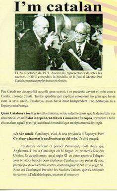 Pau Casals, ONU Barcelona, Image Cat, Spain, Peace, Usa, Country, World, Scene, Souvenirs