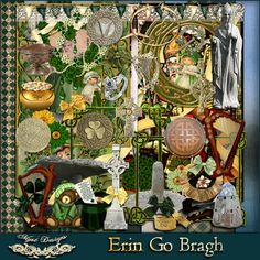 MyMemories Digital Scrapbooking Software and Scrapbook Kits Erin Go Bragh, New Product, Nifty, Digital Scrapbooking, My Design, Cool Designs, Display, Create, Fun