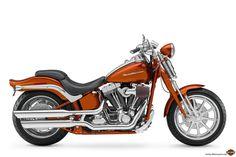 harley davidson motorcycles | 2008-Harley-Davidson-CVO-2008-FXSTSSE2Screamin'EagleSoftailSpringera