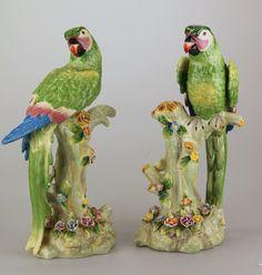 Afbeeldingsresultaat voor porseleinen papegaai