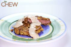 Jennifer Dubbs' Beer Battered Chicken Fried Steak #TheChew