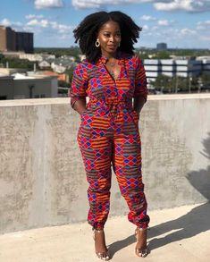 african fashion ankara Looking for african ankara jumpsuit pictures for inspiration? This extensive list of beautiful African jumpsuit pictures will inspire you. African Fashion Ankara, Latest African Fashion Dresses, African Inspired Fashion, African Print Fashion, Nigerian Fashion, African Prints, African Attire, African Wear, African Dress