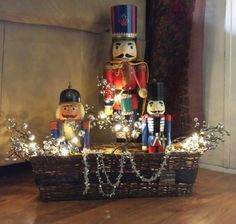 Giant Christmas Nutcrackers | Via Shawn Donovan McRae