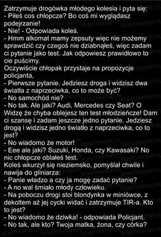 22 najlepsze dowcipy na poprawę humoru – Demotywatory.pl Lol, Periodic Table, My Life, Humor, Memes, Funny, Quotes, Bass, Quotations