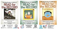 Library Graphic Design: Three years of Read for the Record