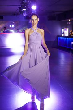 Lavender Infinity Dress South Africa. Only R899 Over 55 colours to choose from only 7 - 10 days delivery world wide! Order your dress today! www.infinitybridalwear.co.za Fashion Tv, Fashion Show, St Yves, Famous Saints, Infinity Dress, Cape Dress, Night Club, Colours, 10 Days