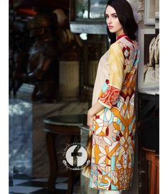Firdous Embroidered Lawn Kurtis Collection 2016 FF_04A