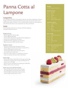 from Debic Bakery Magazine Spring-Summer 2012 Layered Desserts, Gourmet Desserts, Desserts To Make, Mini Desserts, Gourmet Recipes, Delicious Desserts, Dessert Recipes, Zumbo Desserts, Entremet Recipe
