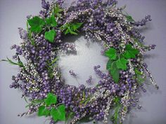 Wreath In Our Hallway