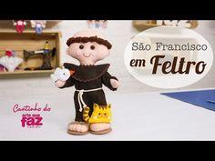 DIY - São Francisco em Feltro (Edilmara Santiago) - YouTube