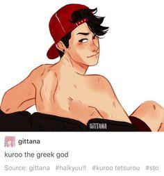 fanon kuroo is so hot but kuroo is just a nerd like..,,,, let him live sjsnsksk