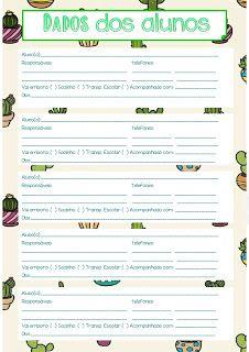 Pedagogas da paz: Planner gratuito Cactos 2020, Planner Cactos Para uso do Professor Imprimir - Planner para download gratuito - planner 2020 para imprimir First Day Of School, Pre School, New Years Eve Party, Classroom Decor, Planner Stickers, Teacher, Planners, Download, Llamas