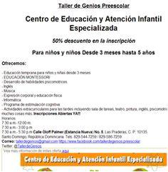 Centro de Educación y Atención Infantil Especializada