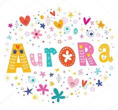 depositphotos_124095616-stock-illustration-aurora-girls-name-decorative-lettering.jpg (1024×960)