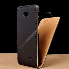 Funda piel tapa diseño Flip para LG L70