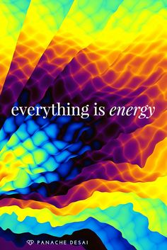 Choose the energy of love and that's what you'll attract.