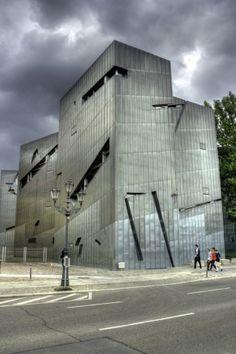Jewish Museum Berlin, Daniel Libeskind | Berlin | Germany | MIMOA Beautiful Architecture, Beautiful Buildings, Berlin Germany, Berlin Berlin, Jewish Museum Berlin, Daniel Libeskind, Lighting Concepts, Deconstruction, White Walls