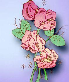 1940s Uncut Aunt Martha Floral Pillowcase Hot Iron Transfer | eBay