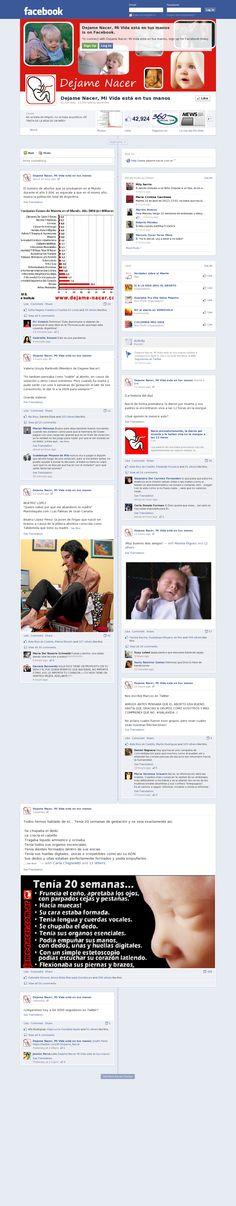 Unete a nuestro Facebook 'www.facebook.com/dejamenacer'