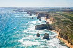 Twelve Apostles from the air, Victoria, Australia - Imgur