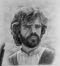 Tyrion Lannister from HBO Tv series Game of Thrones, perfect black and grey drawing by Jakom Artby Jankom Art Game Of Thrones Drawings, Game Of Thrones Art, Giant Outdoor Games, Gym Games For Kids, Hbo Tv Series, Graphite Art, Got Characters, Charcoal Art, Tag Art