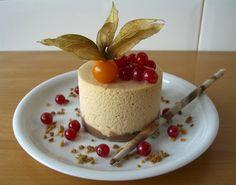 La cuina de casa: Bavaresa de Torró de Xixona amb Cruixent de Xocolata