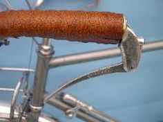 Rene Herse porteur. Bar  end brakes
