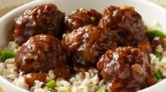 ReadySetEat - Hawaiian Meatballs and Rice - Recipes