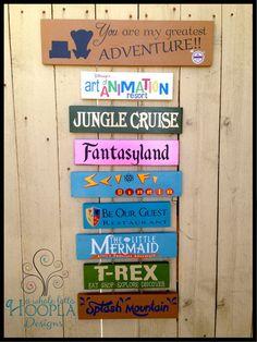 See Your Favorite Disneyland or Disney World by AWholeLottaHoopla