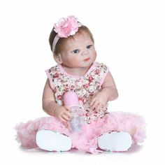 121.59$  Watch now - http://alirw8.worldwells.pw/go.php?t=32740235066 - Real Reborn Babies Bonecas Newborn Dolls for Girls Toy Gifts,21 Inch Lifelike Reborn-Babies-Silicone Dolls with Clothes Headwear 121.59$