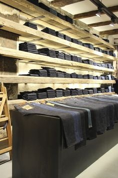 Denim Concept Store - Tenue de Nimes Haarlemmerstraat Amsterdam.One of the Best Denim Store on Earth according to  Highsnobiety.