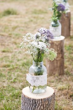 Wedding on a budget. can totally make most decor for a wedding