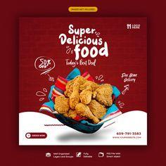 Food Graphic Design, Food Menu Design, Food Poster Design, Food Template, Banner Template, Story Template, Social Design, Breakfast Restaurants, Sushi Restaurants