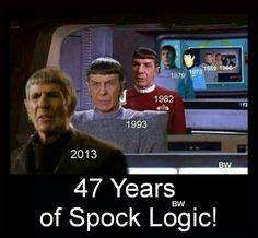 Star Trek: Leonard Nimoy as Spock. Star Trek Original, Leonard Nimoy, Star Wars, Star Trek Tos, Star Trek Voyager, Star Trek Images, Star Trek Characters, Star Trek Series, Starship Enterprise
