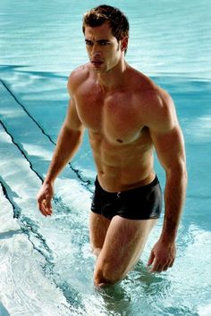 """William Levy photo from JLo video """"I'm into you"""". oh sweet William, won't you be my pool boy? Levy William, William Levi, William William, Speedos, Perfect Day, My Pool, Thing 1, Raining Men, Attractive Men"""