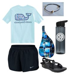 Untitled #1 by kaitlyn-wilson35 on Polyvore featuring polyvore, fashion, style, NIKE, Chaco, Kavu, Vineyard Vines and clothing