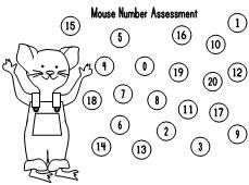 If You Give A Mouse Cookie Number Assessments School Times Daze