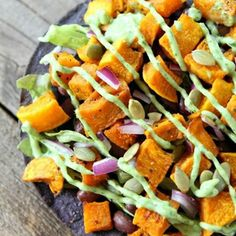 so easy and delicious!  love the squash and black bean flavors together!
