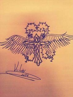 Desenho finalizado CRUZ