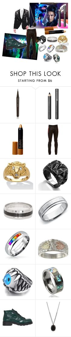 """""""Hands Off - Danny"""" by waywardbirdie ❤ liked on Polyvore featuring Cova, Marc Jacobs, Burberry, Iman, Balmain, Palm Beach Jewelry, John Hardy, Blue Nile, Bling Jewelry and O.X.S"""