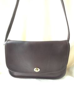 Vintage COACH NYC Dark Chestnut Brown Shoulder Bag BONNIE CASHIN ERA   8e1d1099a8d2f