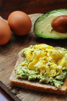 Diet Friendly Avocado and Egg Toast Breakfast