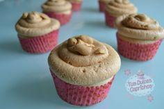 Cupcakes de cacahuete